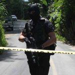 Presunto pandillero muerto en enfrentamiento en canton santa anita, San Cristobal, Cuscatlan