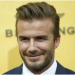 David Beckham, exjugador de fútbol.