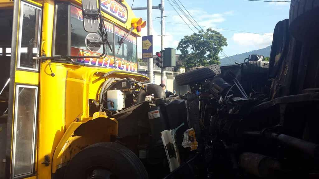 Accidente de tránsito, Sante Tecla
