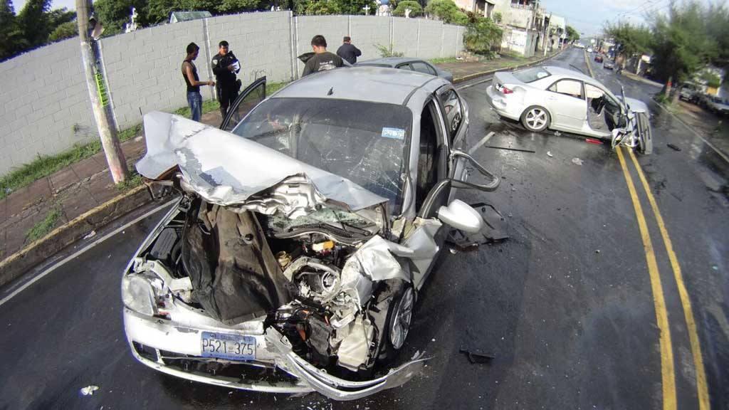 Accidente de tránsito, bulevard Venezuela