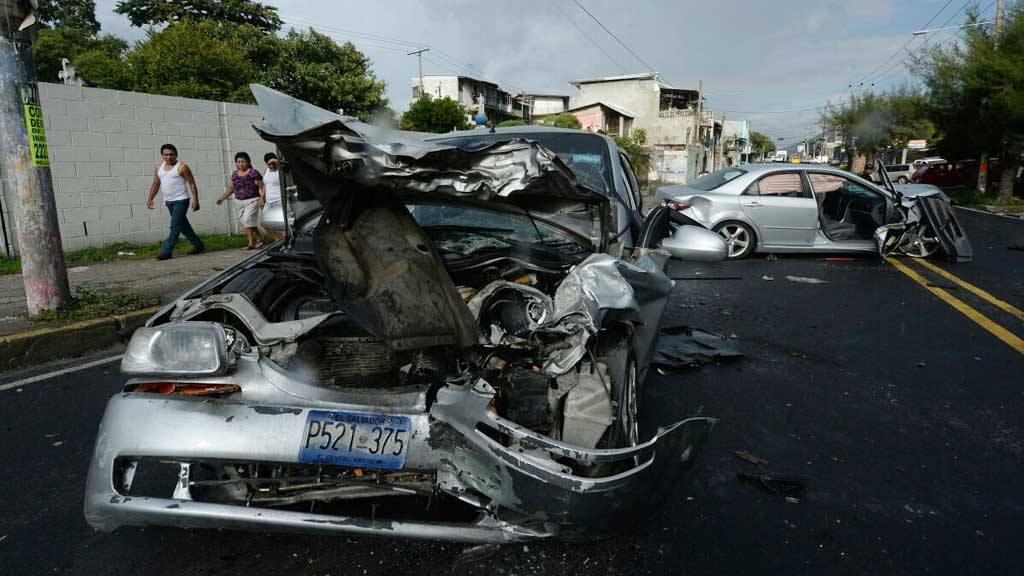 Accidente de tránsito, boulevard Venezuela