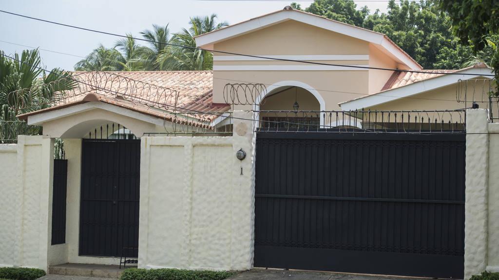 Casa de Mauricio Funes en Nicaragua