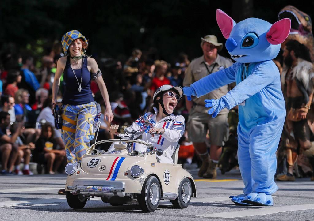 30th annual Dragon Con Parade in Atlanta, Georgia, USA