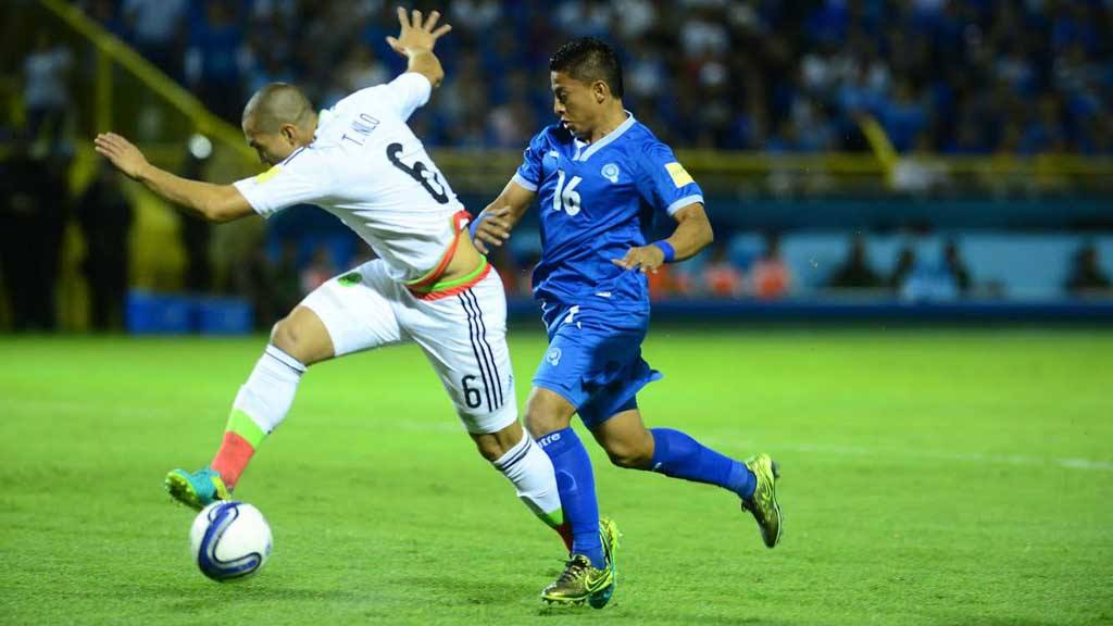 El Salvador perdió contra México 1-3