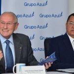 Carlos Araujo Eserski, Banco Azul