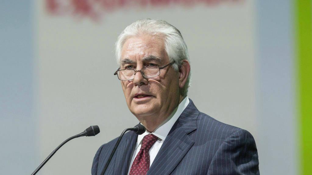 El secretario de Estado de EE. UU. Rex Tillerson