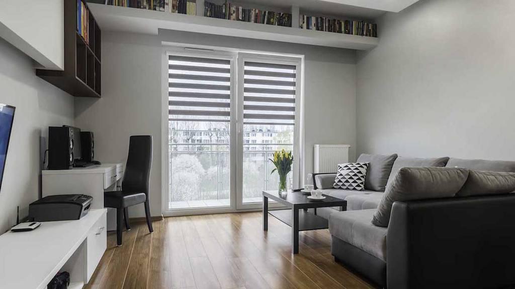 ante el espacio reducido en las casas de hoy se han creado muebles que se pliegan despliegan y se convierten en otros artefactos funcionales