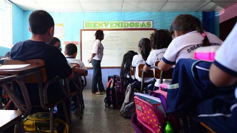 Escuela, estudiantes