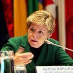 La Secretaria Ejecutiva de la Cepal, Alicia Bárcena