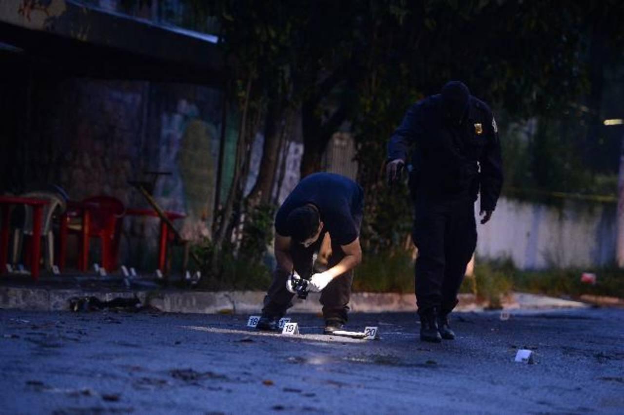 El incidente violento se registró en la calle principal de la colonia Dolores de Mejicanos.