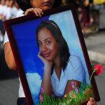 La atleta Allison Renderos fue asesinada con barbarie por un grupo de pandilleros. El crimen conmocionó al país. Foto EDH/ Archivo.