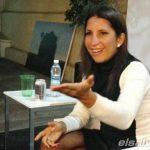 Cristina Quiñones en El Salvador