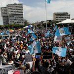 PROTESTAS PARA EXIGIR REFORMAS A LEY ELECTORAL EN GUATEMALA