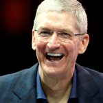 Apple CEO Tim Cook speaks at the WSJD Live conference in Laguna Beach in this file photo from