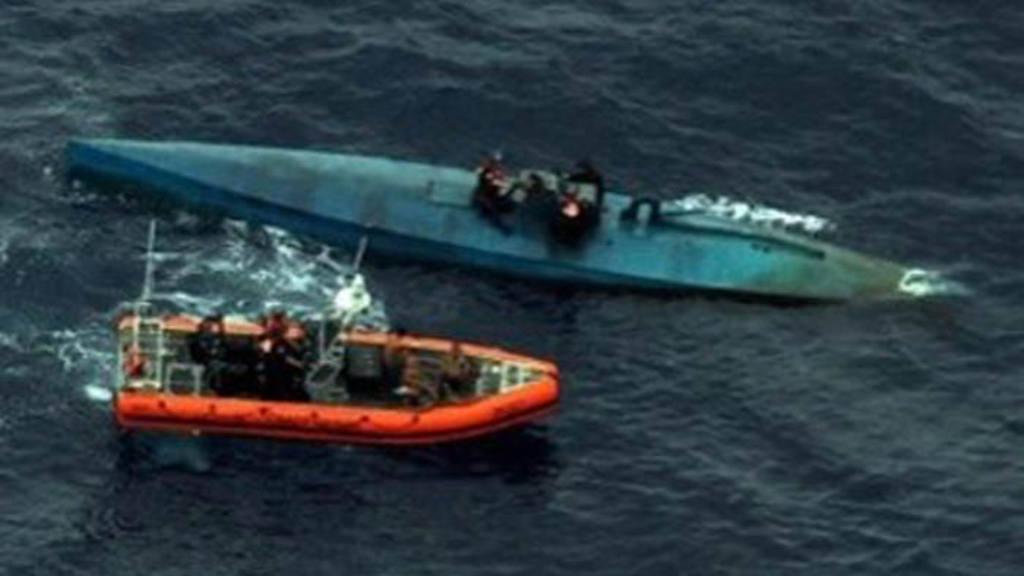 Submarino interceptado por EE.UU.