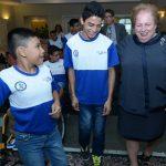 Delegaci?n de menores con discapacidades viaja a Estados Unidos