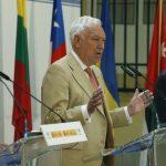 RUEDA DE PRENSA JEAN-PAUL LABORDE - GARCIA MARGALLO - FERNANDEZ DIAZ