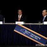 Vicepresidente Joe Biden y el gobernador Andrew Cuomo y Dan Tischman