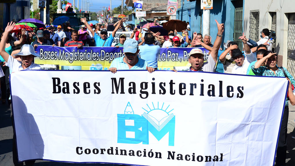 Marcha de Maestros