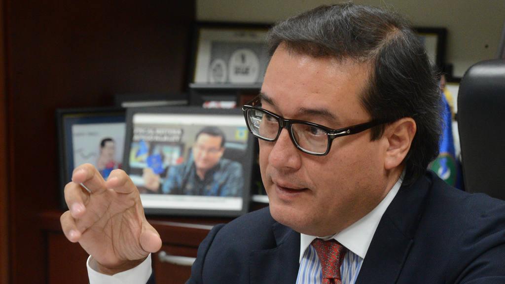 El fiscal general, Luis Martínez.
