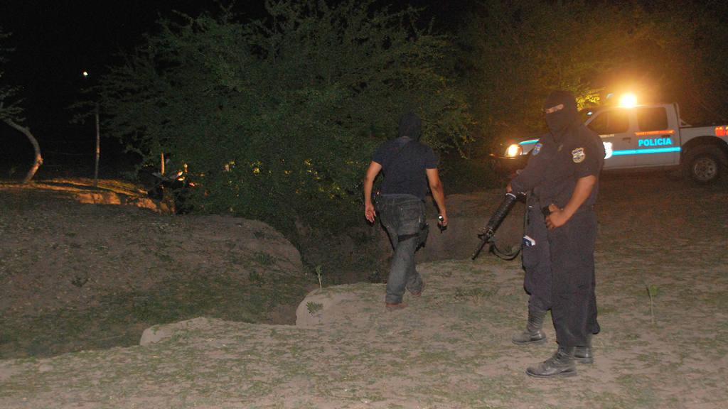 Enfrentamiento maras contra policías