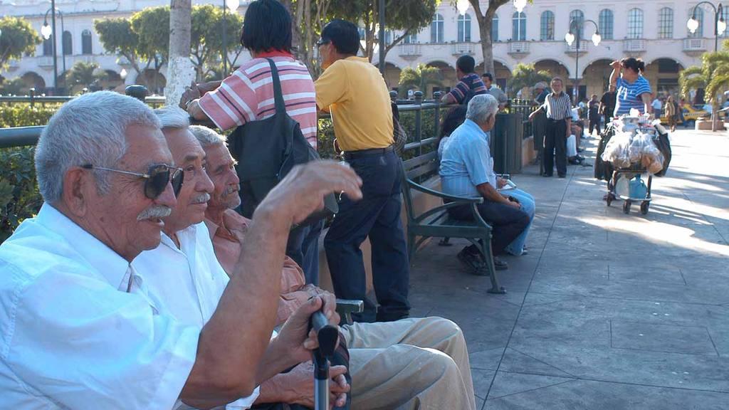 Personas jubiladas