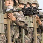 Soldados surcoreanos.
