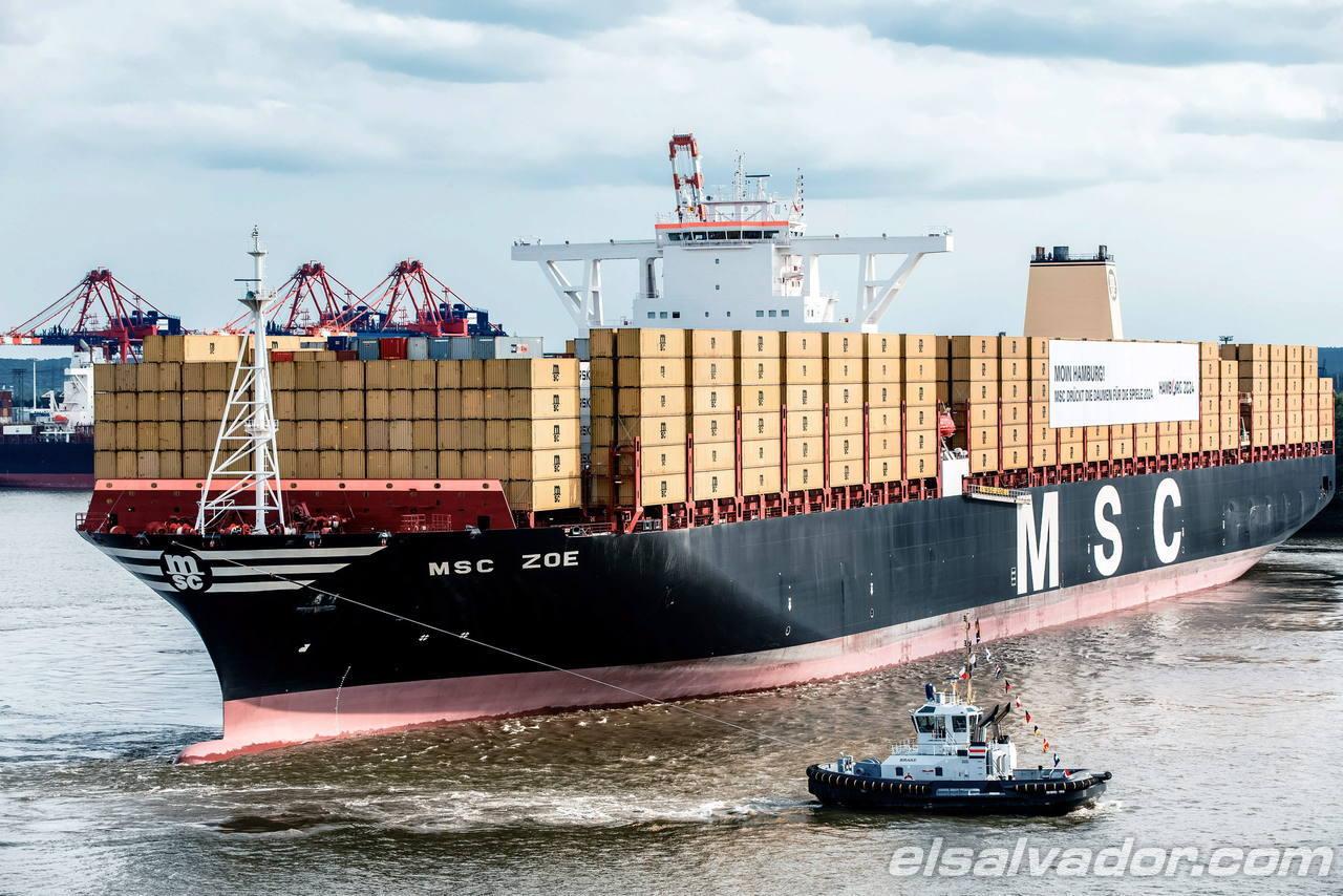 Msc zoe el barco de contenedores m s grande del mundo - Contenedores de barco ...