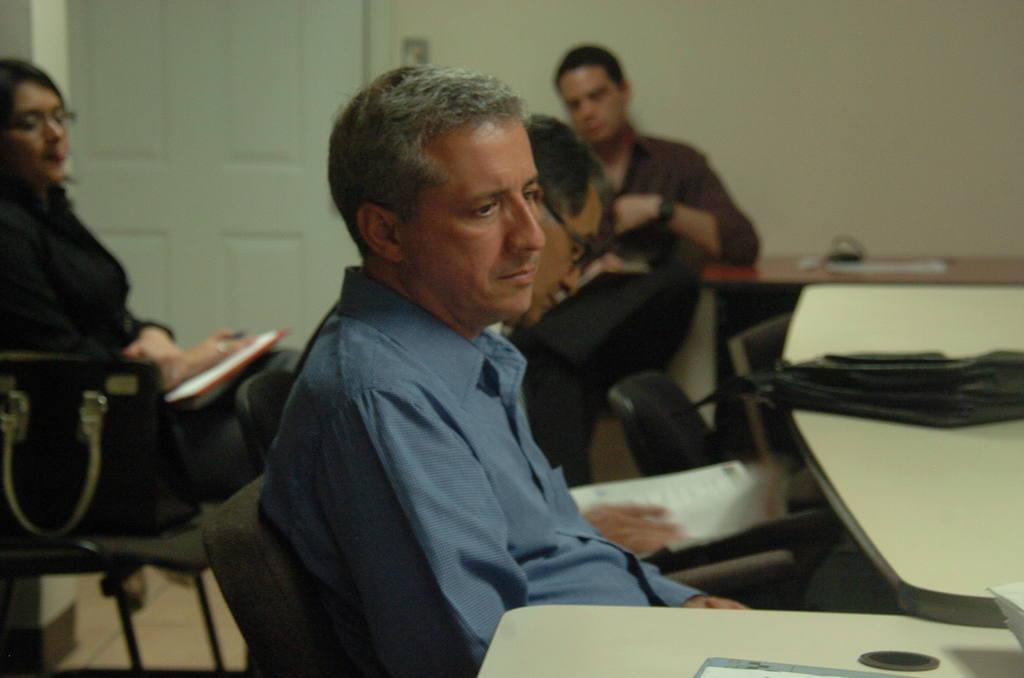 Mario Zelaya, exdirector del Instituto Hondureño de Seguridad Social.