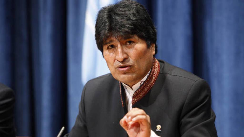 El gobernante Evo Morales.