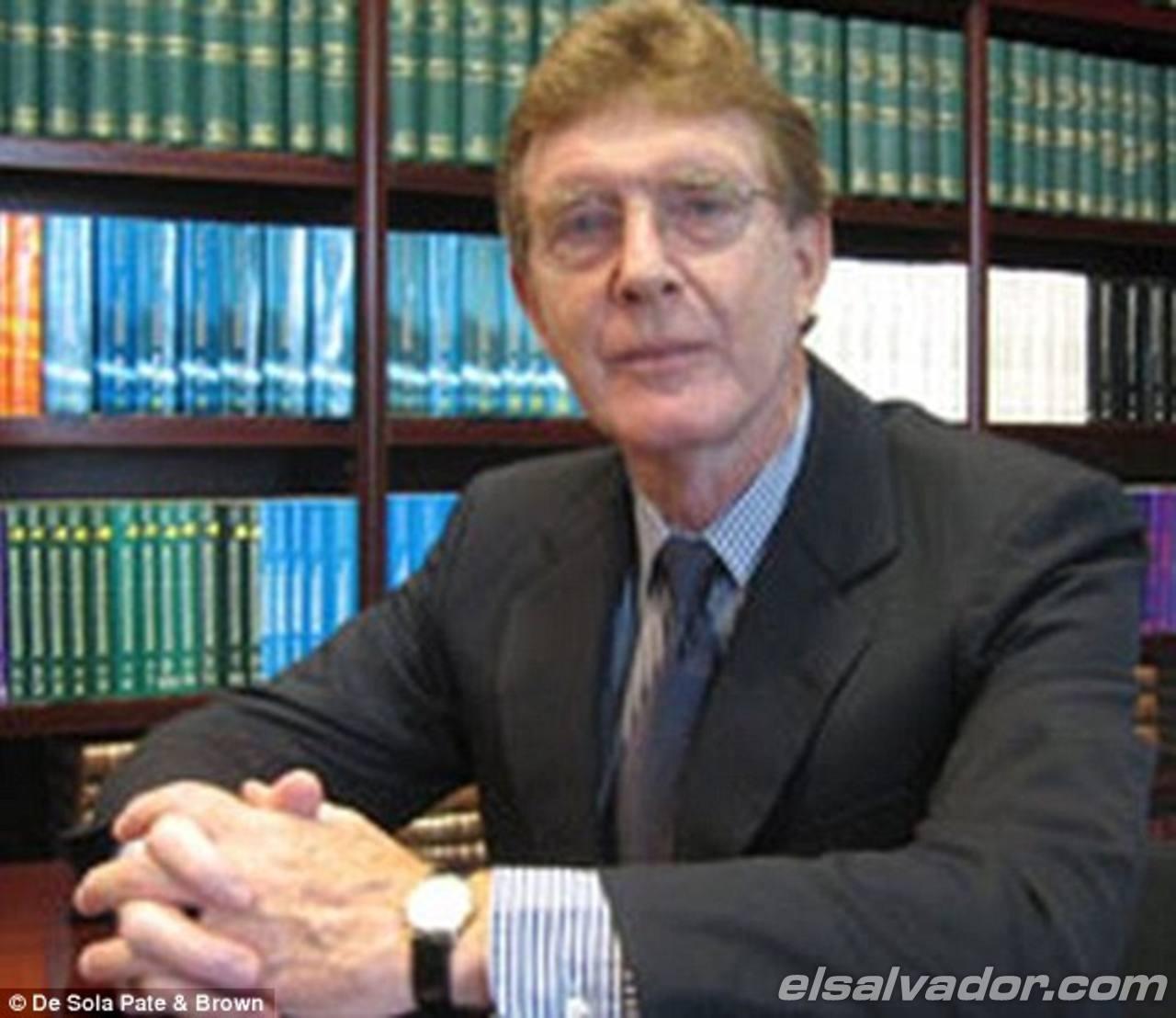 El estadounidense John Ralston Pate.