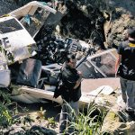 Una avioneta se accidentó el 11 de julio de 2012, murieron tres personas.