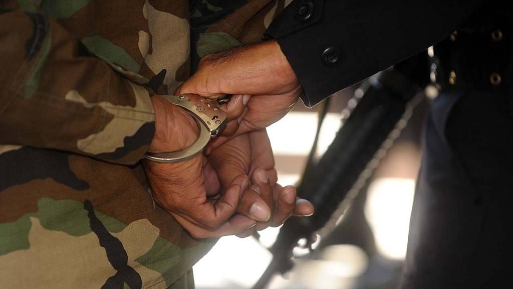 Militar Detenido