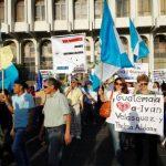 Protesta contra corrupción