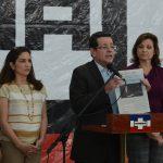 Jorge Velado, presidente del directorio del  COENA del partido ARENA, dio una conferencia