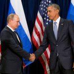 Barack Obama (d), Vladimir Putin (i)