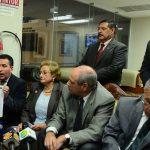 conferencia de prensa, de diputados de la fracción de ARENA