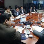 Ministro de Justicia, Benito Lara, y el subdirector de la Polic?a Nacional Civil, Howar Cotto