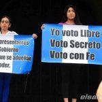 Imagenes previo a las elecciones presidenciales en Guatemala.