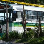 otro autobús de la ruta 144-D fue atacado por pandilleros matando a cuatro personas, incluyendo el motorista y el cobrador de la unidad