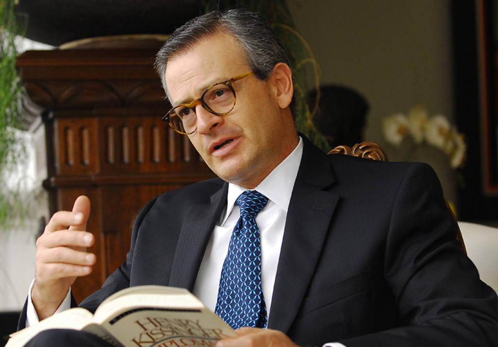 El canciller de Costa Rica, Manuel González.