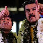 Nicolás Maduro y Evo Morales