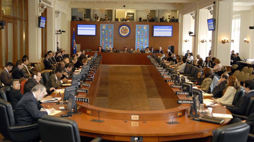 El Consejo Permanente de la Organización de Estados Americanos, rechazo celebrar una reunión de Ministros Exteriores propuesta por Colombia