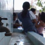 Falta de Agua de la escuela Benjamin Bloom en Apopa