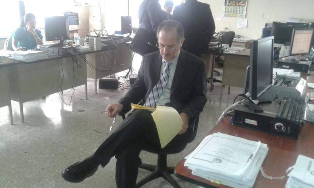 El expresidente del Congreso, Pedro Muadi.