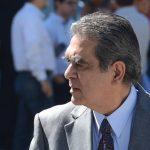 David Gutierrez ex-ministro de Obras Publicas en la administración Saca, se presento a los juzgados para seguir con el de difamación por parte de Hugo Barrera.