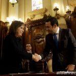 CANDIDATOS A LA PRESIDENCIA DE GUATEMALA FIRMAN PACTO EN FAVOR DE LA TRANSPARENCIA