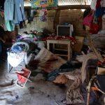 Cantón Los Pajonales, en Panchimalco, donde cinco supuestos pandilleros de la 18 murieron.