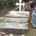 Pedro Antonio Coto Ayala fue enterrado en el patio de su casa en el cantón El Recuerdo, Zacatecoluca.