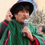 Evo Morales, gobernante de Bolivia.